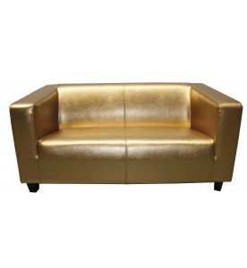 Colour Lounge Sofa - gold