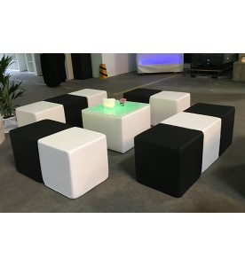 White Lounge Sitzcube small
