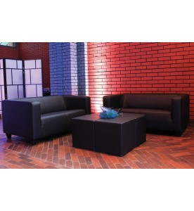 Black Lounge Sofa