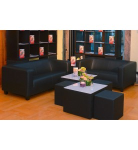 Black Lounge Sitzcube small