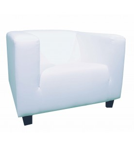 White Lounge Sessel